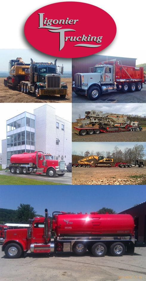 Ligonier Trucking Collage